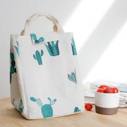 Ланч бэг сумка для сохранения температуры Bio Кактус