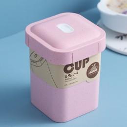 Эко ланч-бокс супница Cup  550 мл, розовый