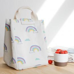 Ланч бэг сумка для сохранения температуры Bio Радуга