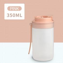 Портативная бутылка для напитков Japanese 350 мл - розовая
