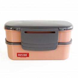 Ланч бокс с охлаждением Ice Pack, розовый 800 мл